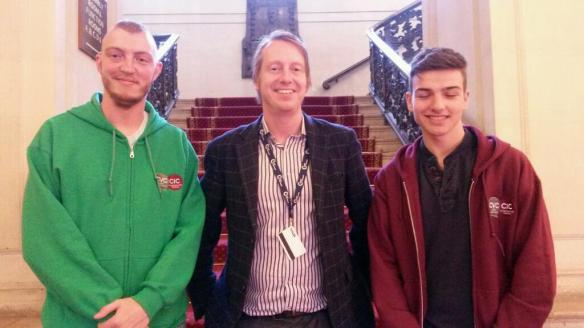 Meeting Cardiff Youth Council Reps