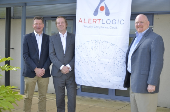 Meeting David Howorth & Marty McGuffin from Alert Logic
