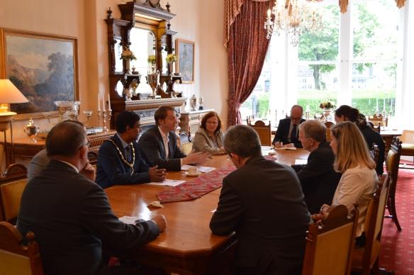 Stuttgart Delegation