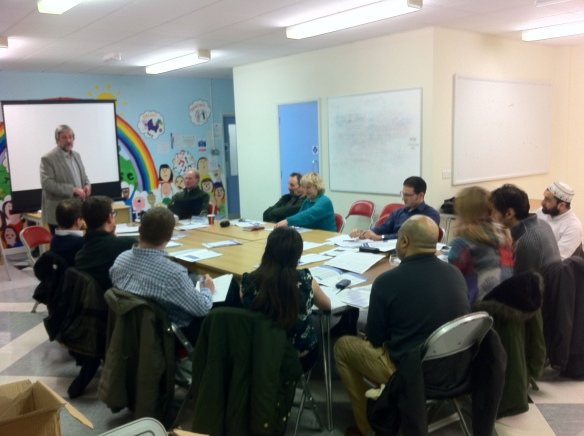 A Stepping Up Toolkit Workshop in action at the Powerhouse Community Centre, Llanederyn