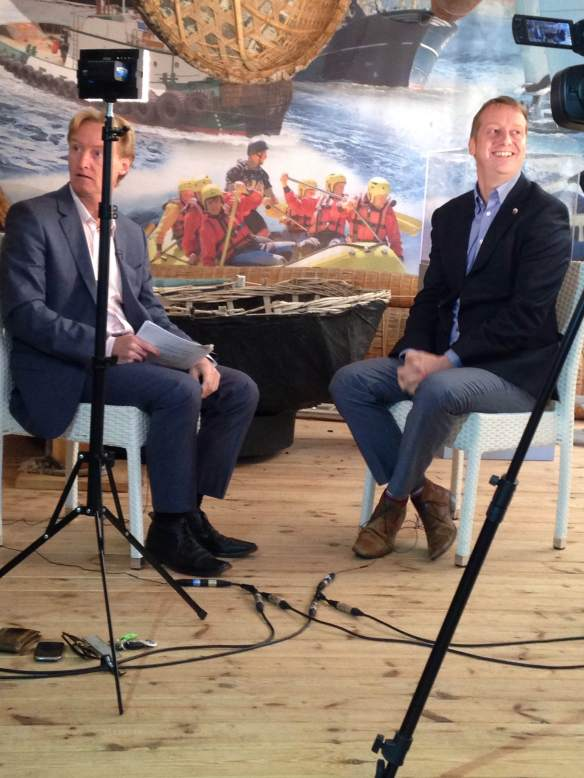 Made in Cardiff Interview with Tim Hartley at World of Boats