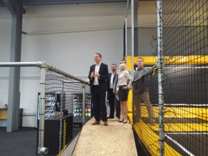 Opening the new Go Air trampoline park